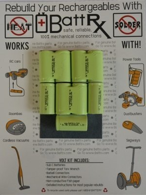 10.8V NiMH 2000 MAH 4/5 Sub C Rechargeable Battery