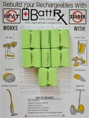 Black & Decker 14.4V NiMH Rechargeable Battery Upgrade Kit