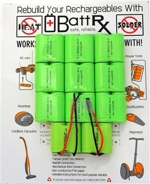 Black & Decker 24V NiMH Rechargeable Battery Upgrade Kit