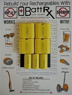 DeWalt 13.2V NiCad Rechargeable Battery Rebuild Kit