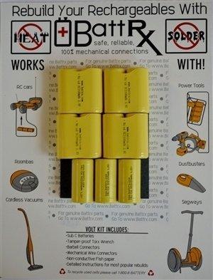 Hilti 13.2V NiCad Rechargeable Battery Rebuild Kit